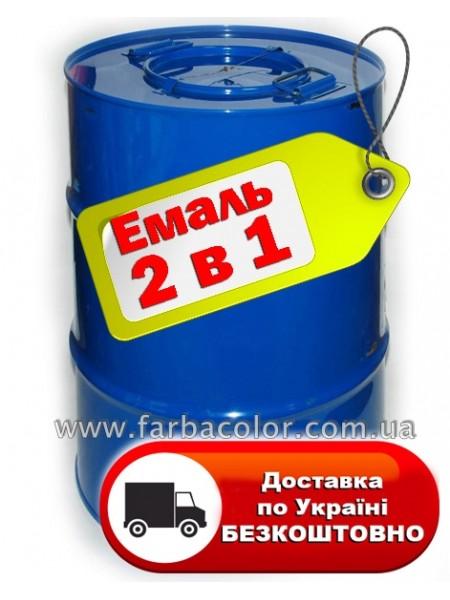 Грунт-эмаль 2 в 1 антикоррозионная 50кг , фото, купить Киев, Gaia-lkz