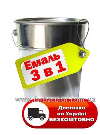 Грунт-эмаль 3 в 1 по ржавчине 25кг, фото, купить Киев, Gaia-lkz